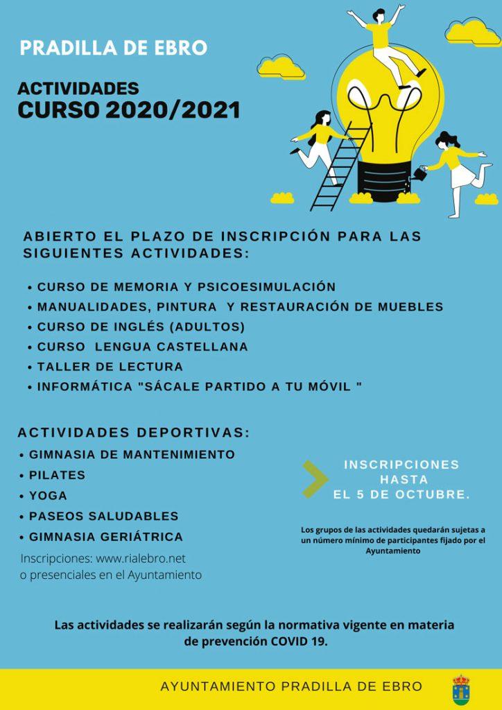 Actividades Curso 2020-2021