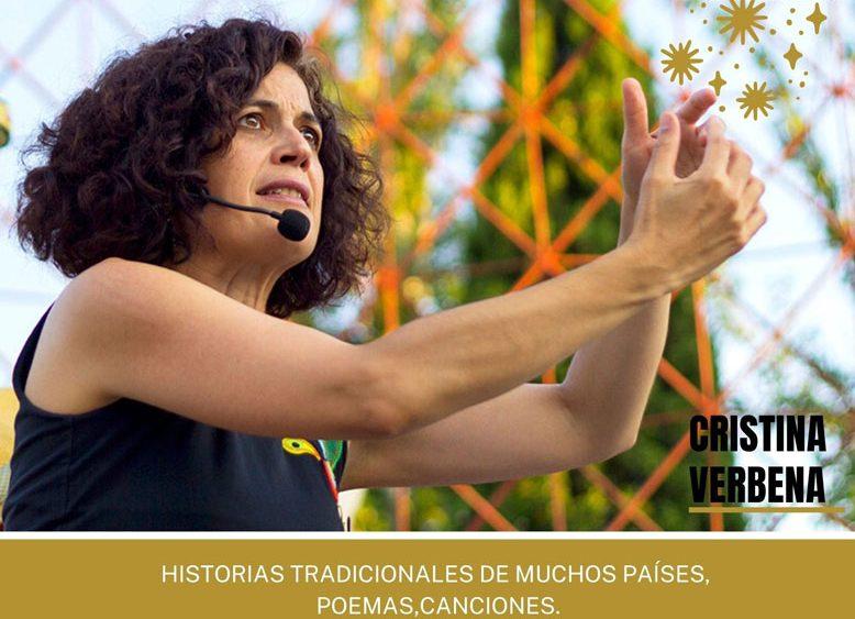 Cristina Verbena con Grandioso Mundo Botón
