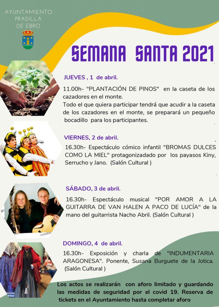 Programa de actos Semana Santa 2021